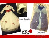 Ana y Botón: Mary Poppins - Cenicienta